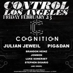 Cognition Presents: Julian Jeweil + Pig&Dan at Control