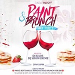 Paint and Brunch Day Party