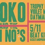 Yoko and the Oh No's with Trophy Dad, Violet Mice & Daymaker at Beat Kitchen