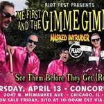 SOLD OUT Me First And The Gimme Gimmes - Concord - April 13th
