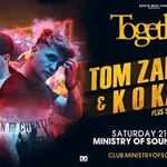 Together with Tom Zanetti at Ministry of Sound