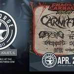 Carnifex, Oceano, Winds of Plague, & more at The Forge!