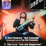 Classic Albums; Thin Lizzy, Bad Company