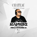 Chateau Friday's with sounds by DJ Raphiki