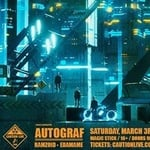 Autograf - Caution: Live Tour at Magic Stick
