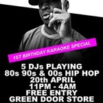 Straight Outta Brighton/1st Birthday Karaoke Special/Free Entry