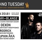 Techno Tuesday Amsterdam I Zakari&Blange, 16 Jan, Melkweg