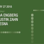 Ida Engberg/ Dustin Zahn/ Desna at Output