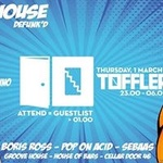 On The House: DeFunk'd | Toffler [Going = Free Entrance]