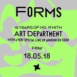 18.5 Forms: 10 years of No. 19 with Art Department