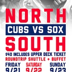 Reggies Cubs vs Sox package