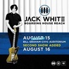 JACK WHITE at Bill Graham Civic Auditorium - Two Nights!