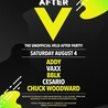 AFTER V - THE UNOFFICIAL VELD AFTER PARTY - SATURDAY