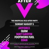 AFTER V - THE UNOFFICIAL VELD AFTER PARTY - SUNDAY