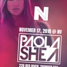 NV Presents: DJ Paola Shea Live in concert