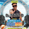South Padre Island Padremaniac VIP Card featuring DJ Pauly D