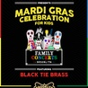 The Rock and Roll Playhouse Presents: Mardi Gras Celebration for Kids ft. Black Tie Brass